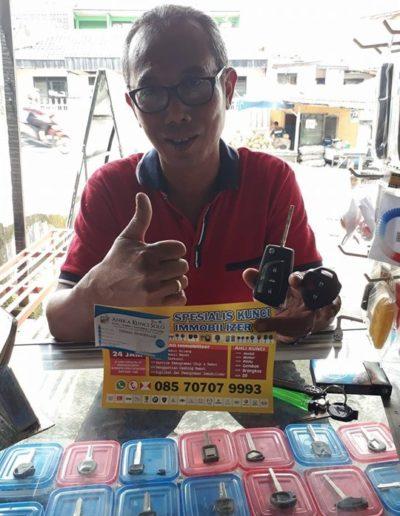 Testimoni Customer Aneka Kunci Solo - Toyota Innova