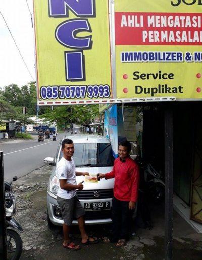 Testimoni Customer Aneka Kunci Solo - Suzuki Ertiga